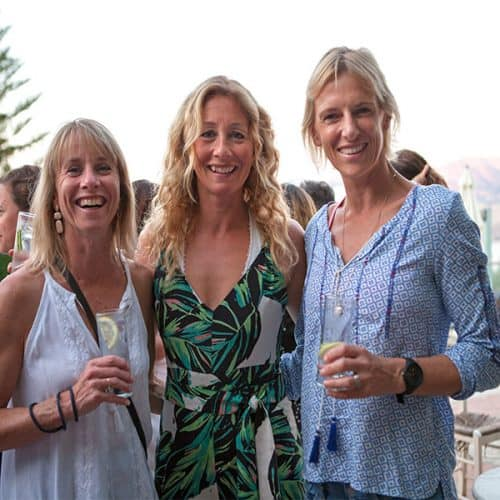 Karen, Laura and Susy