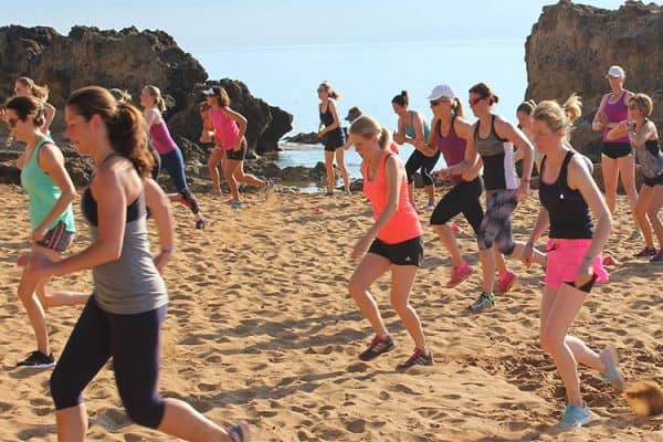 fitness holidays on the beach