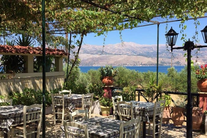 Places to eat on a Sea-Trek Sailing holiday in Kefalonia
