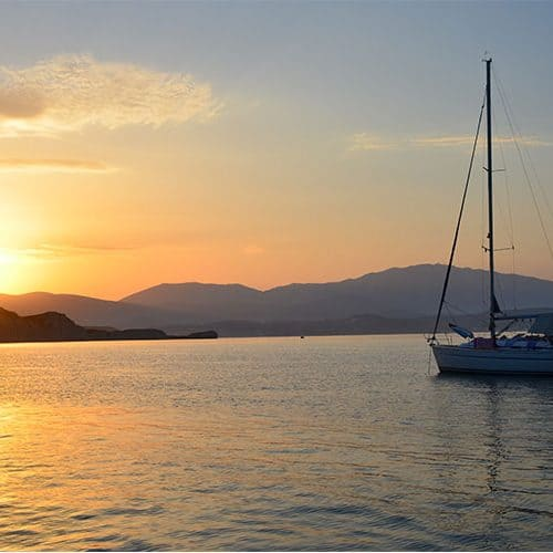 It doesn't get much better than this in the southern Ionian