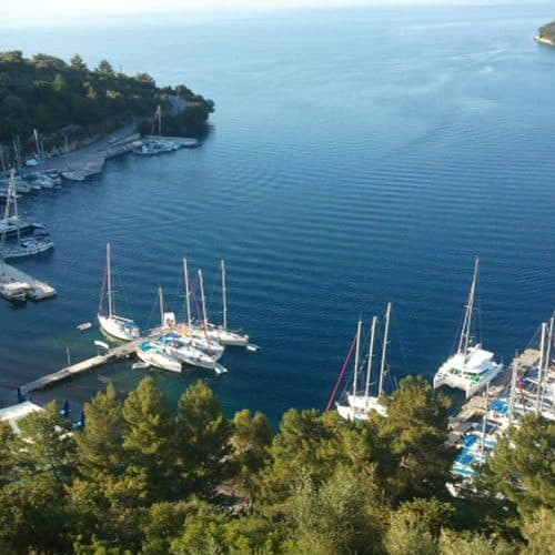 This is one of our favourite views in the Ionian, Meganissi island