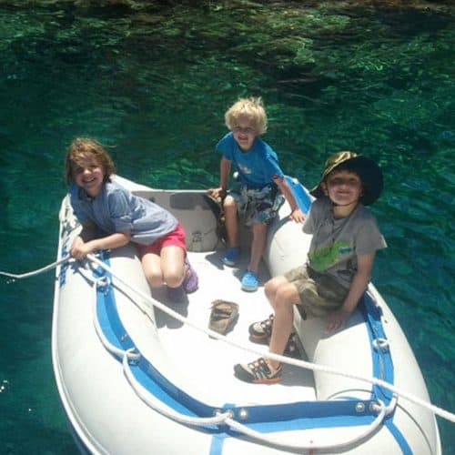 Endless fun for the kids on a Learn to Sail holidays