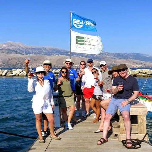 Great fun on a singles Learn to Sail holiday