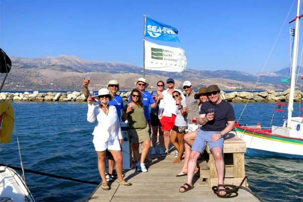 Singles Learn to Sail Week Group