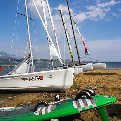 Windsurfing, catamarans, double handers, single handers, SUPs, kayaks and more