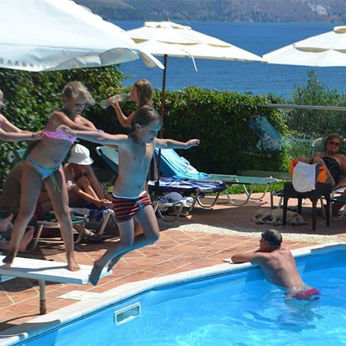Endless fun in the beach club pool