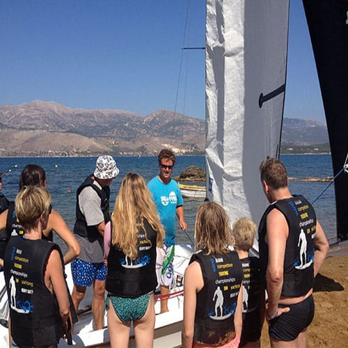 Dinghy Sailing Tuition