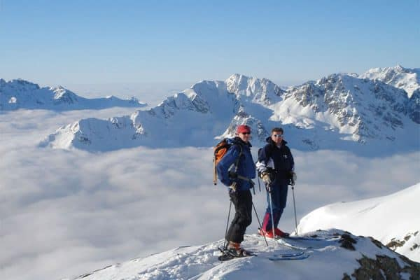 skiing holiday in vaujany