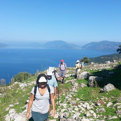 Walking in Kefalonia