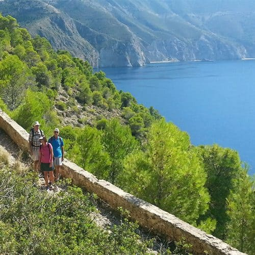 Walking holidays Greece Assos
