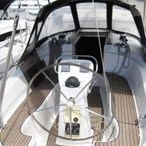 On the pontoon on a Flotilla Holiday