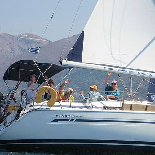yacht charter greece bavaria