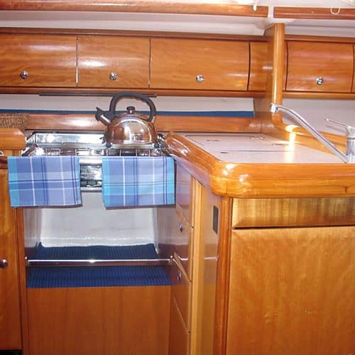 Yacht Charter Galley