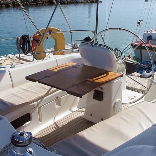 flotilla sailing greece seating