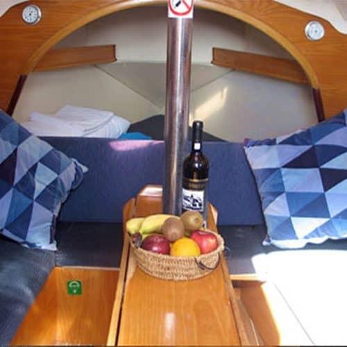 flotilla sailing fruit basket