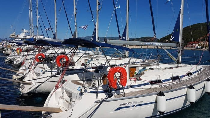 Sailing Holidays - Stern To Mooring in Greece