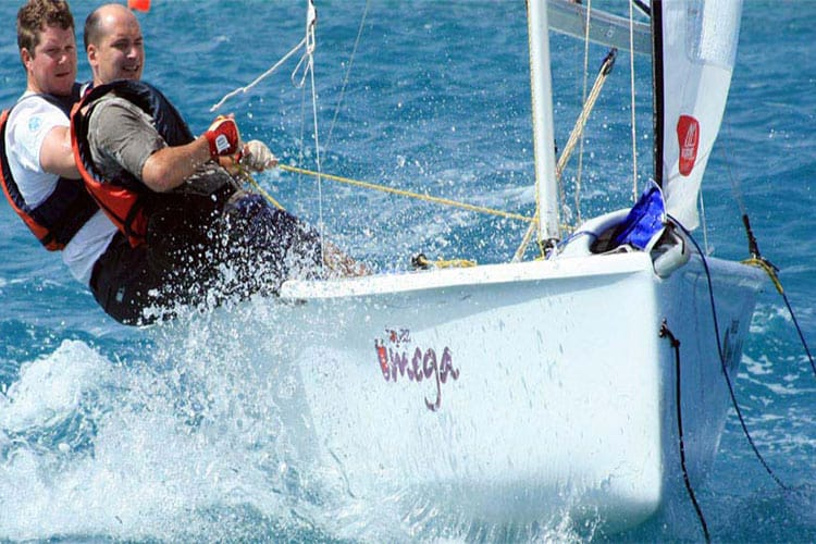 Dinghy Sailing in a Topper Omega