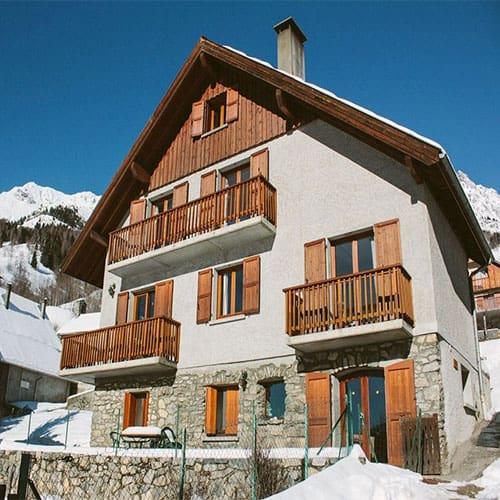 luxury ski chalet lucette