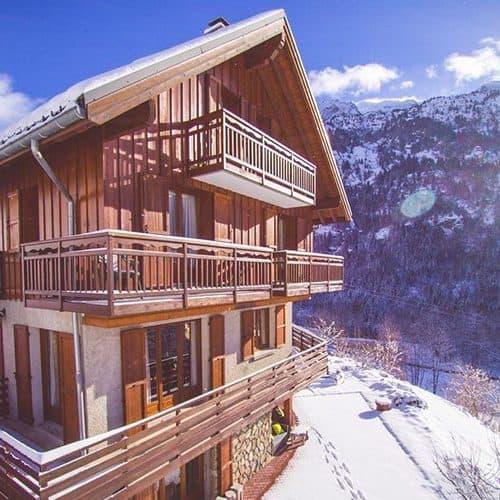 luxury ski chalet saskia