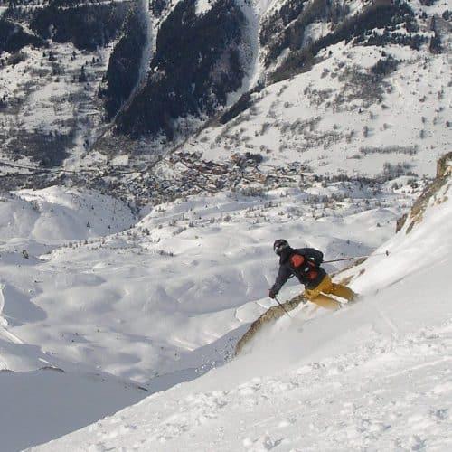 Vaujany Skiing France