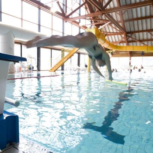Swimming in Vaujany France