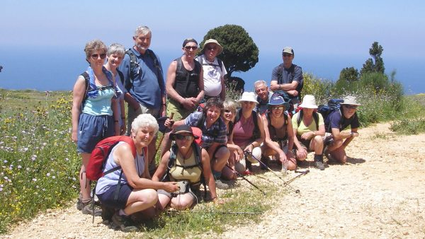 walking holidays in kefalonia