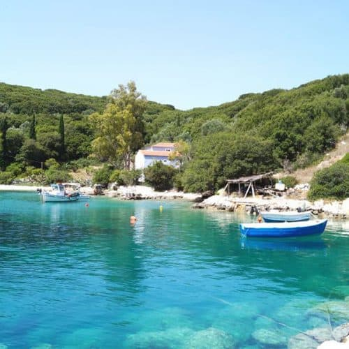 Lovely Atheras harbour Kefalonia