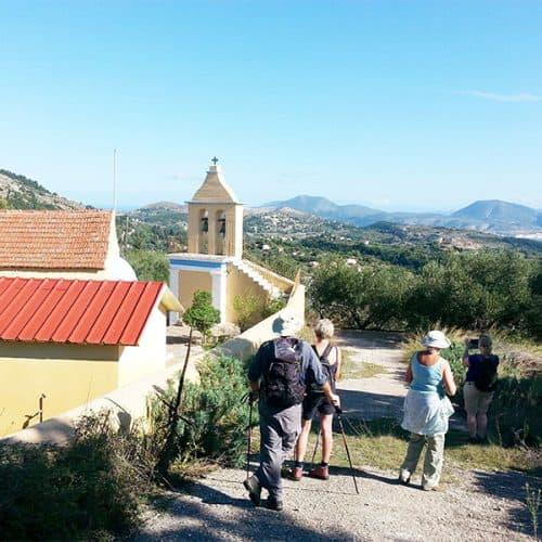 Walking holidays Greece Paliki
