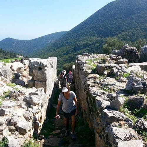 Walking Holidays Greece Sami