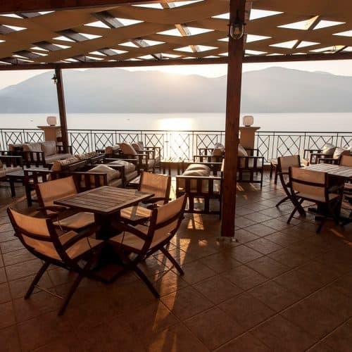 The fantastic taverna and bar view