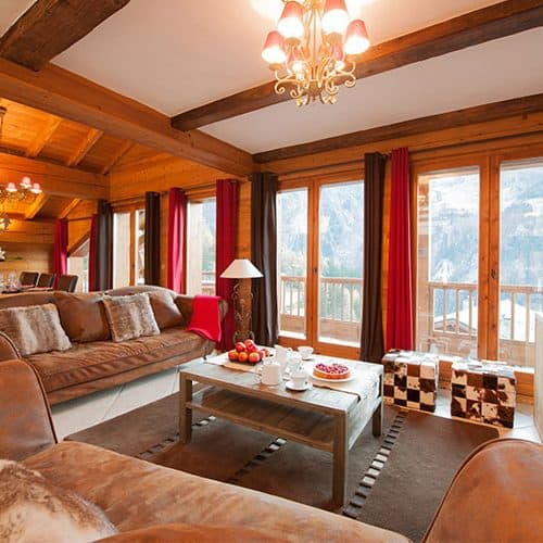 Not a bad view from the spacious living area