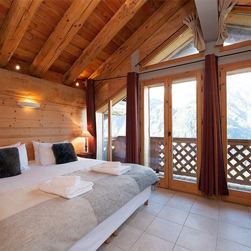 Stunning views from the double bedroom