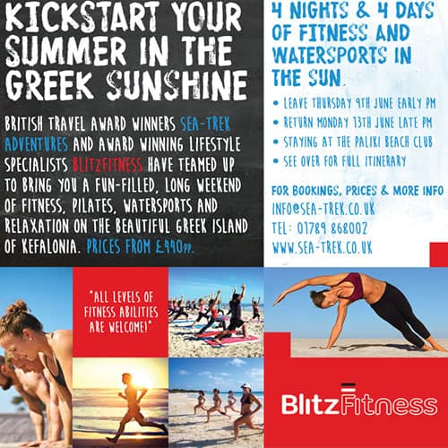 Fitness and Pilates in Greece Programme