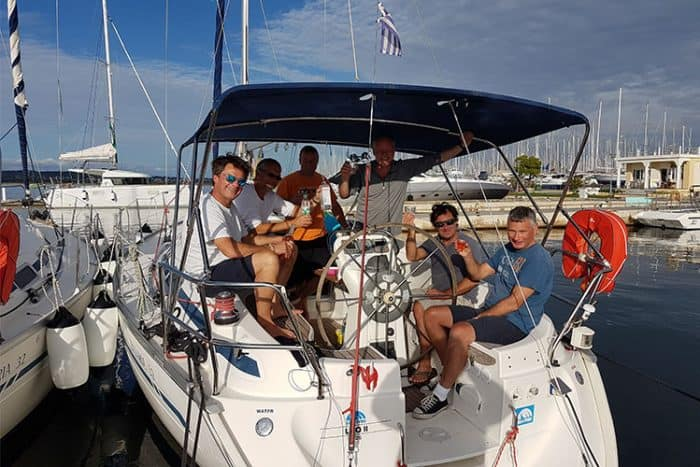Epic Delivery Flotilla Sailing at Sea-Trek