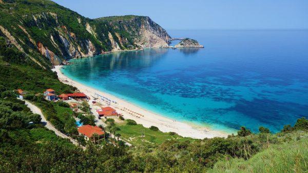 Petani Beach Kefalonia