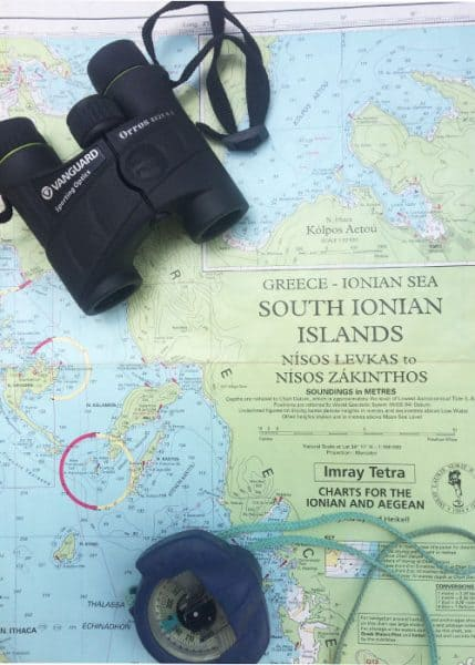 Route south through the Ionian Islands on Flotilla
