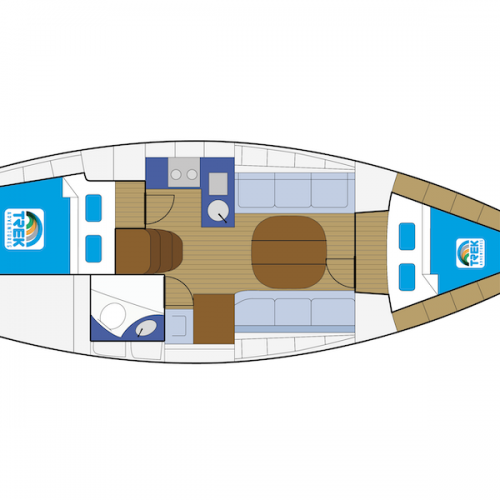 Bavaria 32 Layout