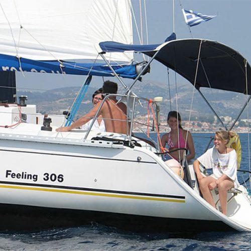 Feeling 306 Sailing