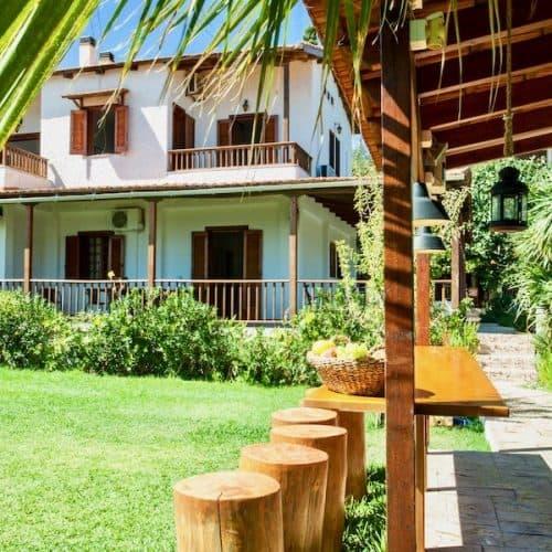 Kostas Beach House Exterior