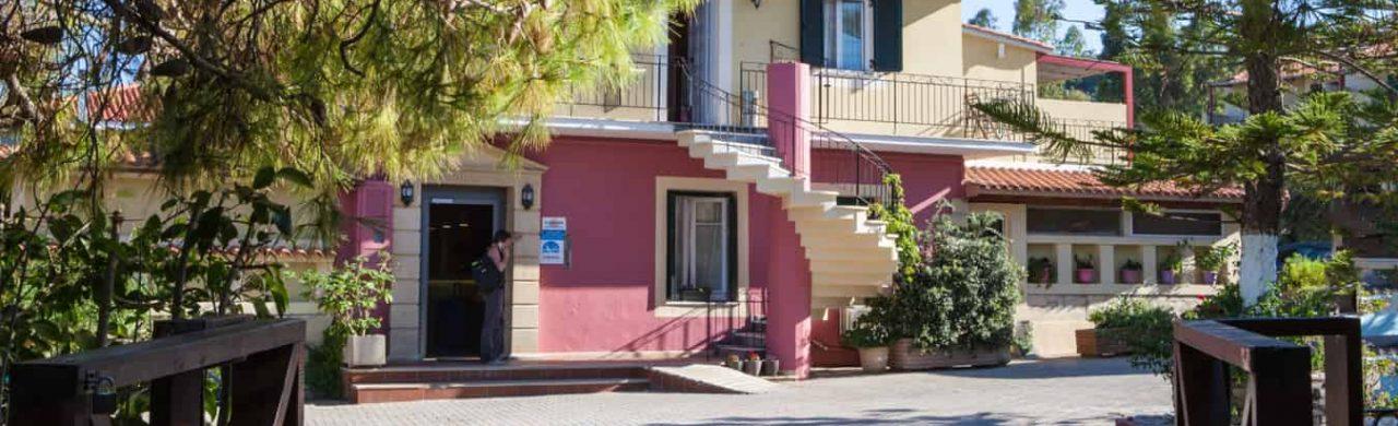 Paliki Beach Club Hotel Entrance