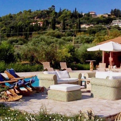 Mitis Villa Pool Area