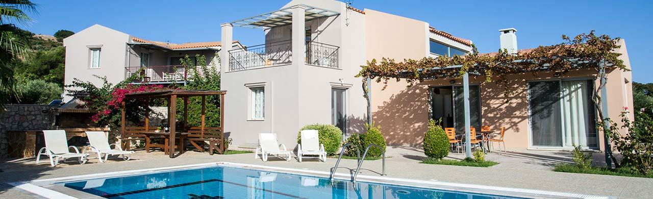 Paliki Villas with pool in Kefalonia Greece