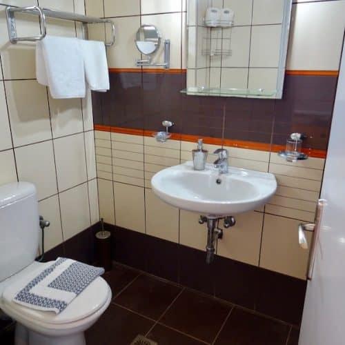 Standard Room Bathroom at Paliki Beach Club