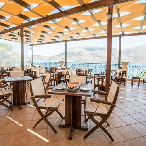 Wonderful views from our club taverna