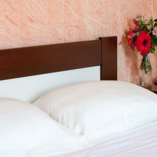 Comfortable double beds