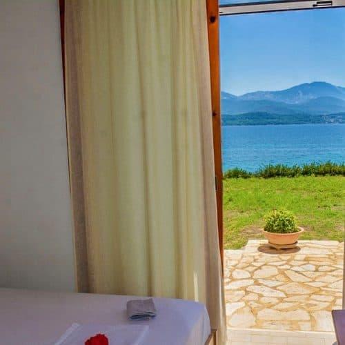 Nisos Beach House Bedroom