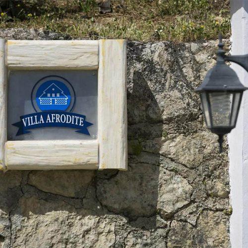Villa Afrodite Entrance