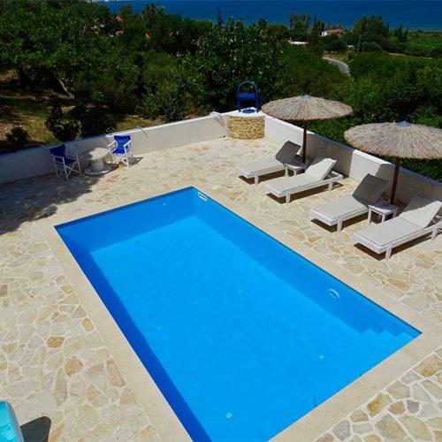 Villa Afrodite Pool Area