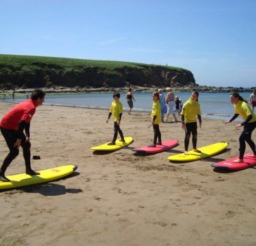 Bantham surfing holidays
