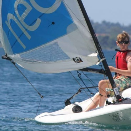 Sailing an RS Neo